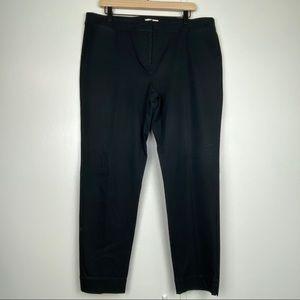 EILEEN FISHER Black Trouser Dress Pants